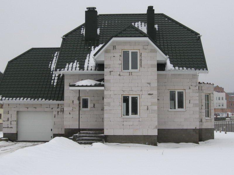 Строим дом своими руками из газосиликатных блоков видео